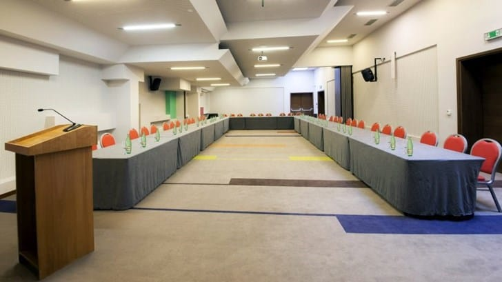 Photo-gallery of the conference facilities